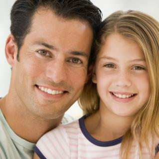 father and daughter small 17813806